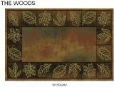 Gow 11055 Vista Autumn Leaves Rug