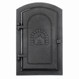 Copperfield 3577943 Minuteman Cast-Iron Clean-Out Door - 8'' x 12''