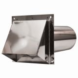 Copperfield 3602935 Dryer Vent Horizontal Cap - 430 Stainless