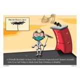 Copperfield ''Dentist'' Appointment Postcard - Pack of 250 Blank on Back