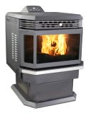Us Stove AP5660 Pellet Stove with Ash Pan and Remote Control