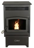Ashley Hearth AP60 Pellet Stove with Hopper and Remote