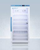 Summit ARG8PV Upright Vaccine Refrigerator w/ Glass Door - 8 Cu.Ft.