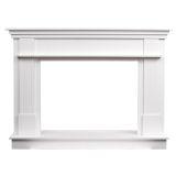 Ashley Hearth ASHFSMK-W Freestanding Wood Mantel in Smooth White