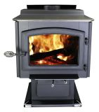 Ashley Hearth AW3200E-P EPA Certified LG Pedestal Wood Burning Stove