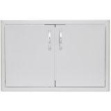 Blaze BLZ-AD40-R 40'' Double Access Door with Paper Towel Dispenser