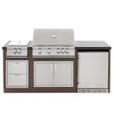 Blaze BLZ-ISLAND-1 Island w/Four Burner Natural Gas or Propane Grill
