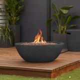 Riverside Propane Fire Bowl with Natural Gas Conversion Kit - Shale