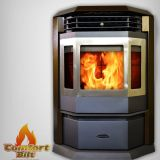 ComfortBilt CT-HP22SS-Bronze Pellet Stove with Remote and Trim