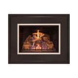 25'' DV Firep. Insert w/CMB Logs, BP Liner and Md. 4-Side Surround - NG