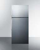Summit FF1512SSIM 28'' Top Mount Refrigerator-Freezer with Icemaker