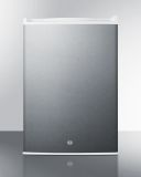 Summit FF31L7BISS Compact Built-In All-Refrigerator - SS, White