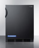 Summit FF6BKBIADA 24'' Wide Opaque Crisper All-Refrigerator with ADA