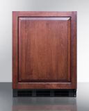 Summit FF6BKBIIF 24'' Wide Built-In All-Refrigerator