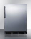Summit FF6BKBISSTB 24'' Wide Automatic Defrost All-Refrigerator