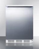 Summit FF6WSSHH 24'' Wide 2 Level Legs All-Refrigerator w/Wired Shelf