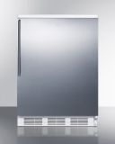 Summit FF6WSSHV Wide Factory Reversible All-Refrigerator w/Wired Shelf