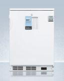 Summit FF7LWPLUS2 Factory Reversible All-Refrigerator w/Wire Shelf