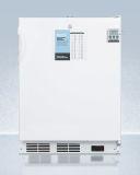 Summit FF7LWPLUS2ADA 24'' Wired Shelf Wide All-Refrigerator with ADA