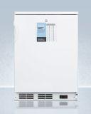 Summit FF7LWPRO 24'' Wide 4 Level Legs All-Refrigerator w/Wired Shelf