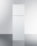 Summit FF922W 22'' Wide Top Mount Refrigerator-Freezer - White