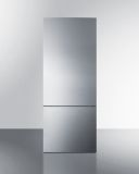 Summit FFBF279SS 28'' Wide Bottom Freezer Refrigerator