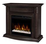 Dimplex GDS28G8-1804ES Gewndolyn Mantel Electric Fireplace - Espresso
