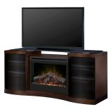 Dimplex GDS33-1246WAL Acton Media Console - Inner Glow Logs