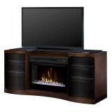 Dimplex GDS33HG-1246WAL Acton Media Console Electric Fireplace