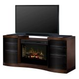 Dimplex GDS33HL-1246WAL Acton Media Console Electric Fireplace