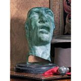 Design Toscano IF1175 Study of the Human Face Bronze Mask