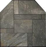 """NY Hearth Iron Quartzite 54"""" x 54"""" Tile Hearth Pad - Standard"""