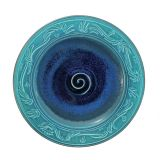 Design Toscano JPZ3334 Pana Carved 14''Ceramic Plate