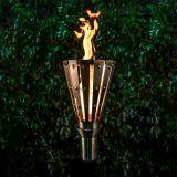 Trojan Stainless Steel Top Fire Torch #3 w/Top-Lite Torch Base - LP