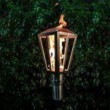Lantern Stainless Steel Top Fire Torch #6 w/Top-Lite Torch Base - LP