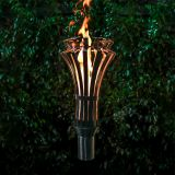 Gothic Stainless Steel Top Fire Torch #9 w/Top-Lite Torch Base - LP
