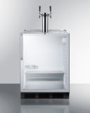 Summit SBC56GBICSSADA 24'' Wide Built-In Beer Dispenser - Glass, SS