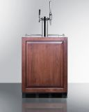 Summit SBC58BBIIFCMTWINADA 24'' Wide Built-In Coffee Kegerator