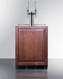 Summit SBC58BBIIFNCFTWINADA 24'' Wide Built-In Coffee Kegerator