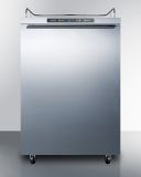 Summit SBC635MOSNKHH 24'' Wide Outdoor Kegerator - Stainless Steel