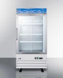 Summit SCFU1211 27'' Wide Upright All-Freezer - Glass, White