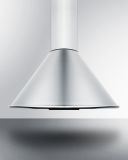 Summit SEH6624CADA 24'' Wide Wall-Mounted Range Hood - ADA Compliant
