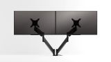 Octoo SM-2-PE Desktop Double Monitor Stand - Black