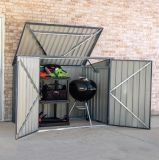 Arrow STB63CC Storboss Charcoal Horizontal Shed