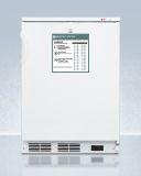 Summit VT65MLGP 24'' Wide All-Freezer with RHD Door Swing