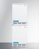 Summit VT65MLSTACK 24'' Wide Stacked All-Freezers - RHD Door Swing