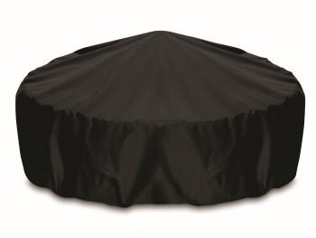 """Two Dogs 60"""" Fire Pit Cover - Black"""