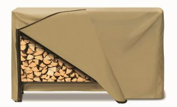 "Two Dogs 96"" Log Rack Cover - Khaki"