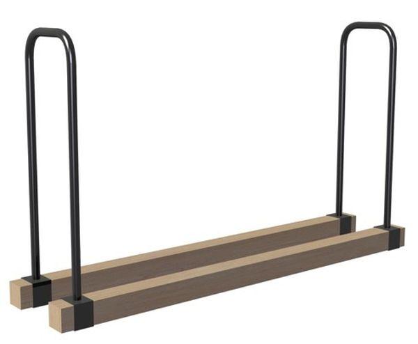 Landmann 82800 Lumberjack Series Adjustable Log Rock