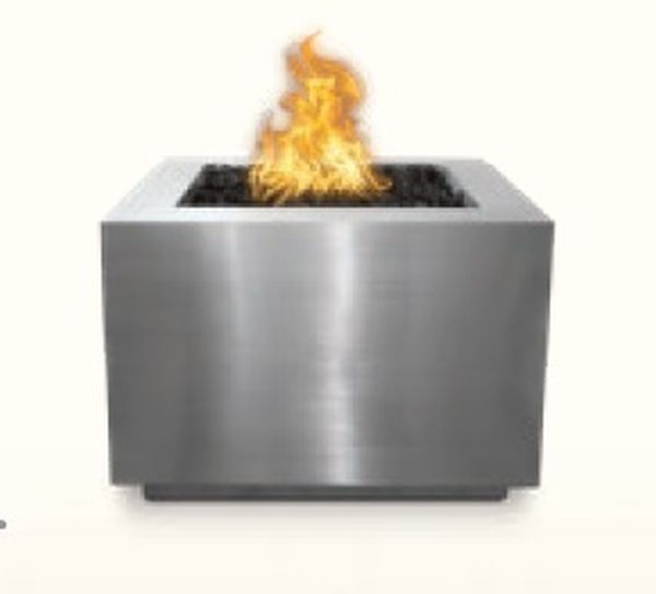 60'' Forma Stainless Steel Electronic Ignition Fire Pit - NG